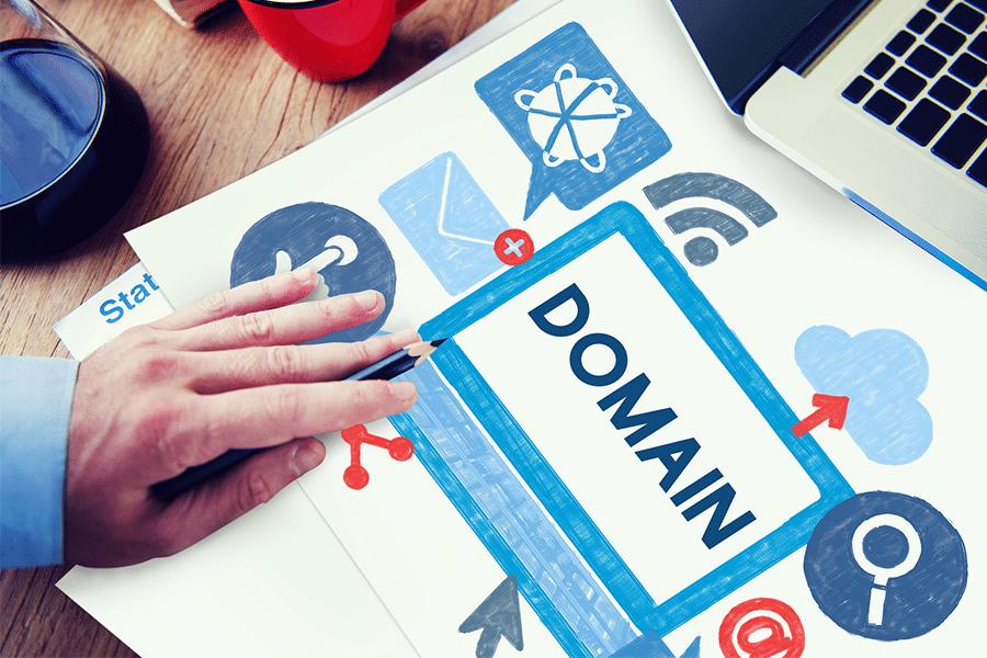 حجز domain شركة ويب لينك اس