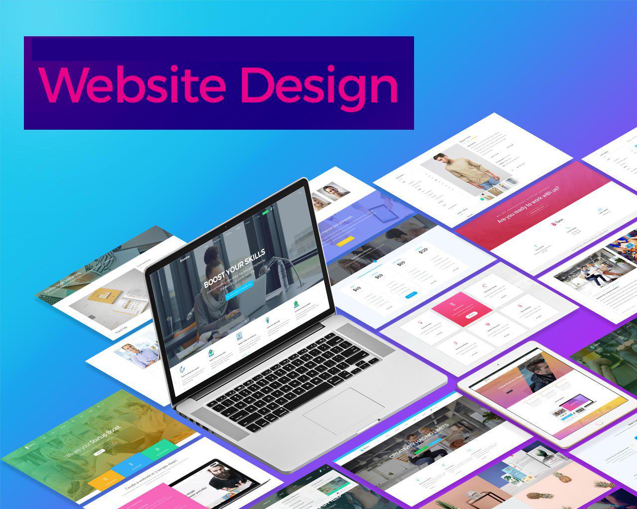 أفضل 10 عناصر لتصميم موقع ويب فعال