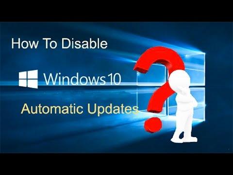 اهم طرق إيقاف التحديثات الإجبارية Windows 10